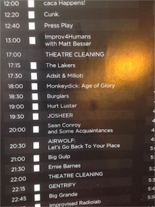 Piątkowy harmonogram #DCM17